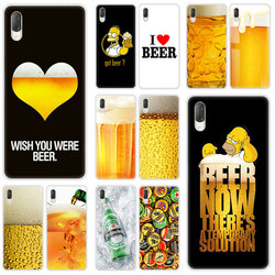 На Алиэкспресс купить стекло для смартфона hot fun beer glass hard case for sony xperia l1 l2 l3 x xa xa1 xa2 xa3 ultra 10 plus e5 xz xz1 xz2 compact xz3 xz5 2 20 cover