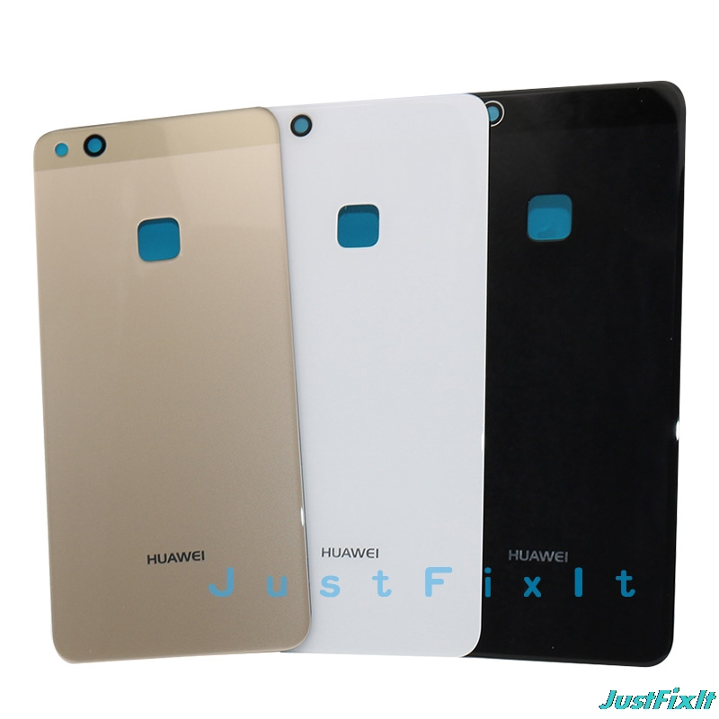 For <font><b>huawei</b></font> <font><b>P10</b></font> Lite/Nova Lite glass <font><b>Cover</b></font> for <font><b>Huawei</b></font> p10lite Back <font><b>Battery</b></font> <font><b>Cover</b></font> Housing Replacement Parts with Adhesive Sticker image
