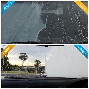Image 4 - Espray repelente de agua para vidrio de coche, líquido antilluvia, súper hidrofóbico, Nano recubrimiento de cerámica, impermeable, limpieza de parabrisas automático, 30ml