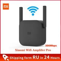 XiaoMi-repetidor Wifi para uso en el hogar, Amplificador de cobertura de señal de 300Mbps, modelo Versterker Pro 2,4 Xiao mi