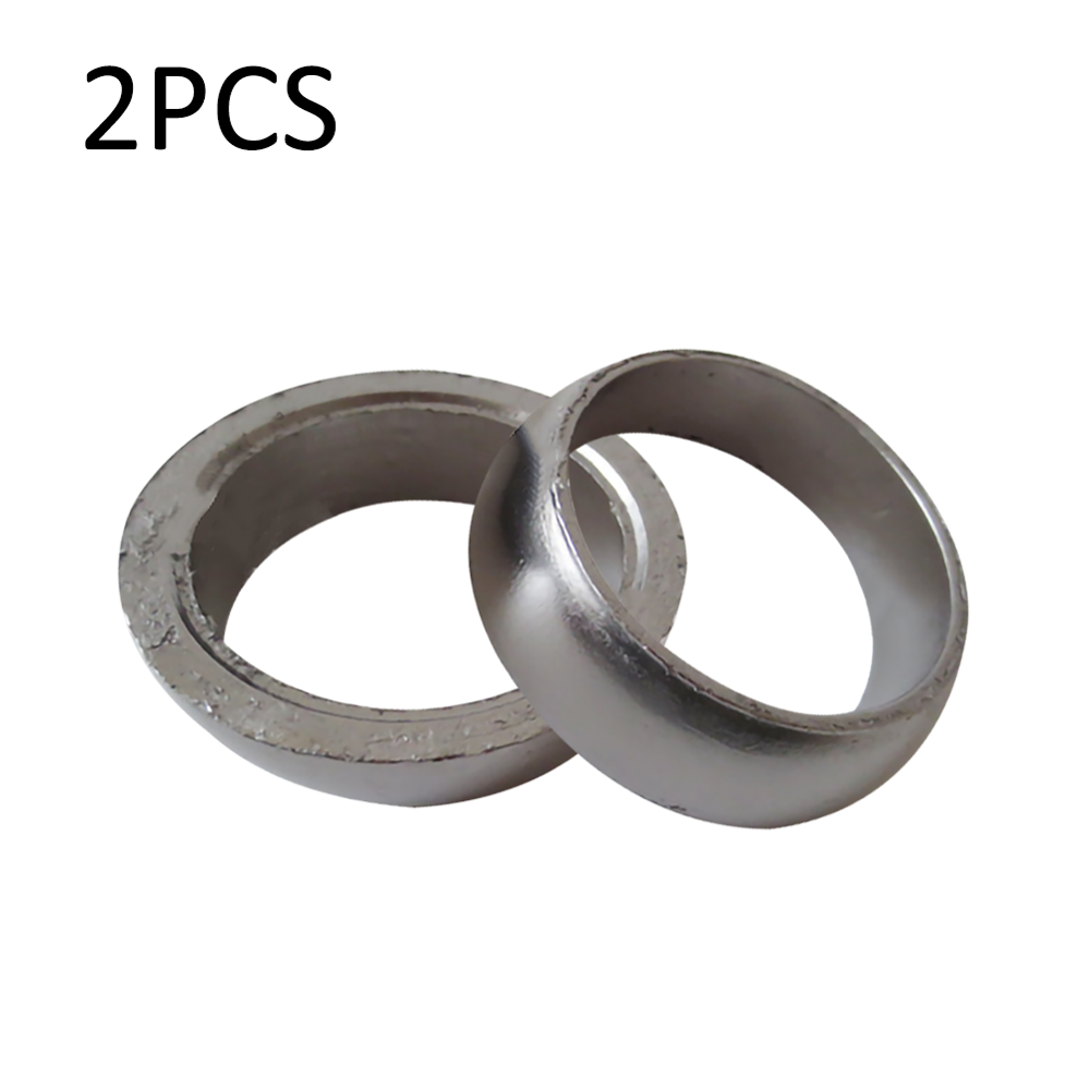 2Pcs Exhaust Donut Seal Gasket Fit for <font><b>Polaris</b></font> <font><b>Sportsman</b></font> 600 700 <font><b>800</b></font> 3610047 image