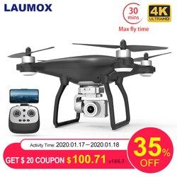 LAUMOX X35 Дрон gps 5G Wi -Fi 4K HD Камера Profissional Квадрокоптер с дистанционным управлением бесщёточным двигателем дроны шарнирный стабилизатор для кам...