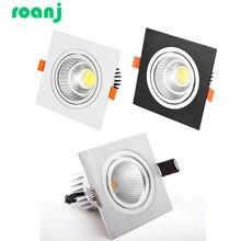 Приглушаемый Светодиодный точечный светильник cob потолочный