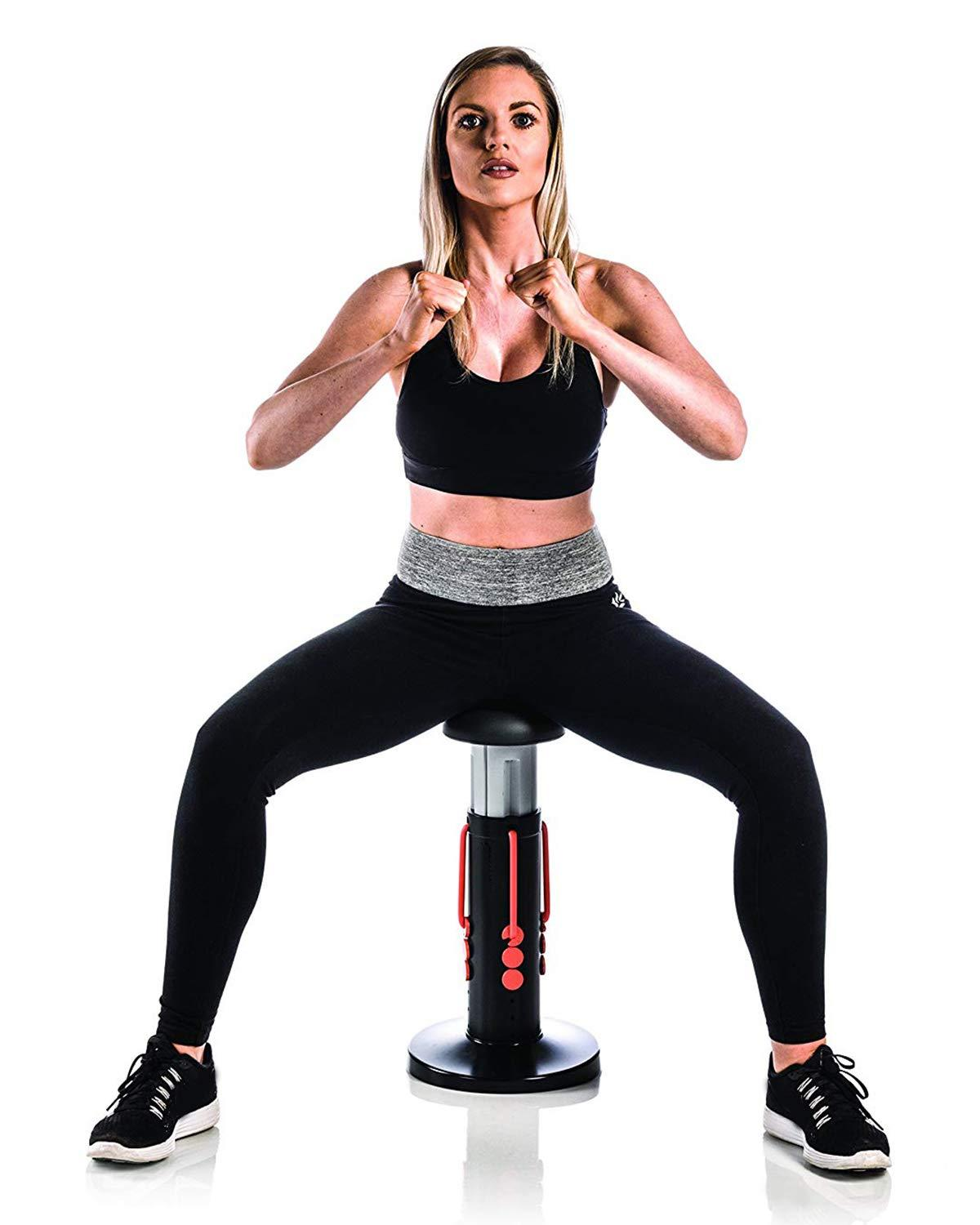 High Stress Full Body Squat Assistive Exercise Home Gym Workout Lower Body And Core Squat Workout Exercise Machine As Seen On TV
