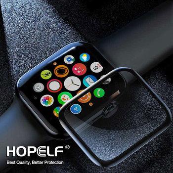 Szkło hartowane 3D HD do zegarka Apple 5 6 SE osłona ekranu seria 44MM 40MM szkło do szkiełko zegarowe Apple 3 4 iwatch 42MM IWatch tanie i dobre opinie HOPELF CN (pochodzenie) Przedni Film Explotion odporne na For Apple Watch SE 6 5 4 3 2 1 High Quality Tempered Glass