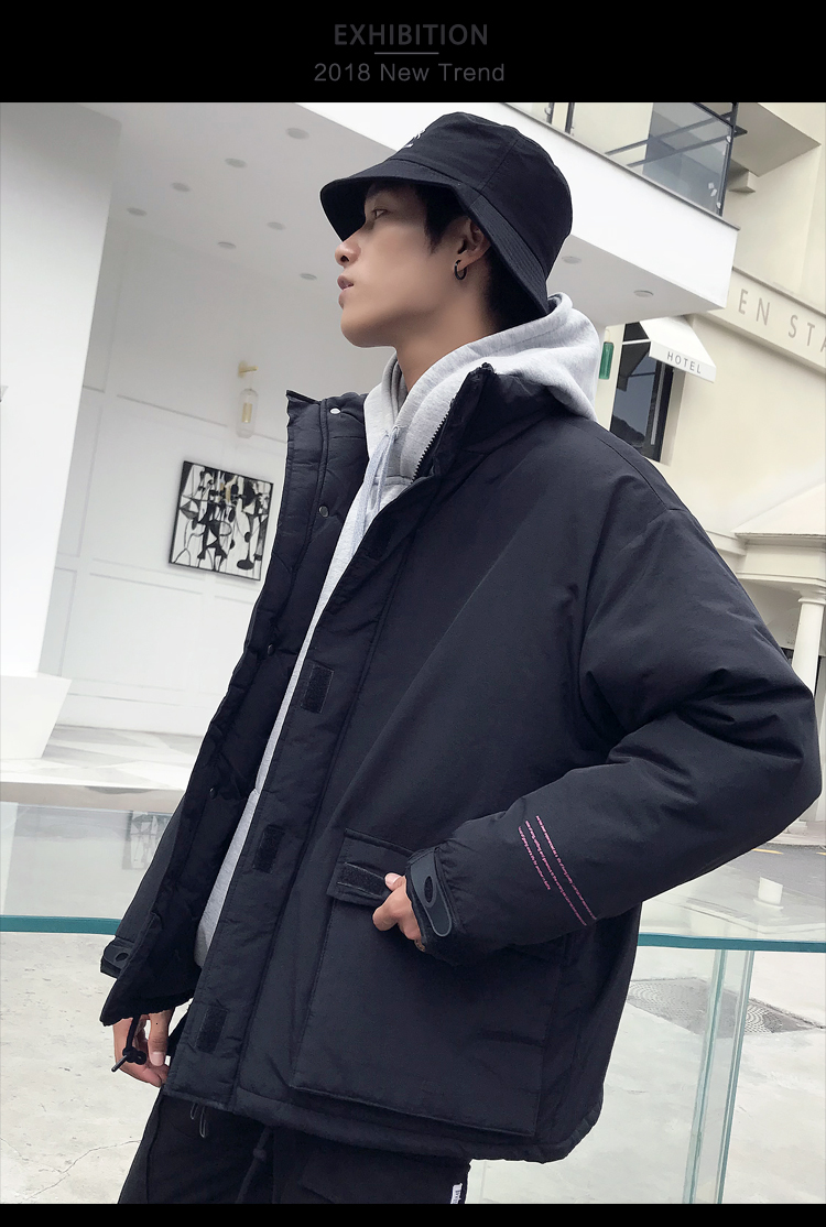 Men's Quality Student Winter Clothes Jacket Men Parka Thick Warm Outwear Korean Youth Streetwear Hip Hop Japan Style Harajuku 12