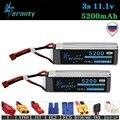 100% емкость 3S 11 1 v 5200mAh 35C LiPo батарея для радиоуправляемого дрона радиоуправляемые автомобили радиоуправляемые роботы радиоуправляемые игру...