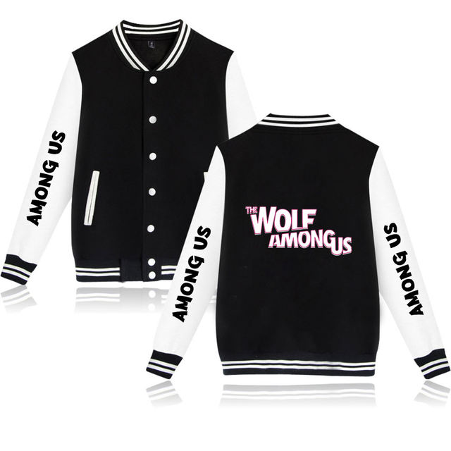AMONG US THEMED BASEBALL JACKET (20 VARIAN)