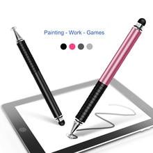 Ручка для рукописного ввода, емкостная ручка, прозрачная присоска, двойное касание, два в одном, считыватель, высокая стабильность, металлич...