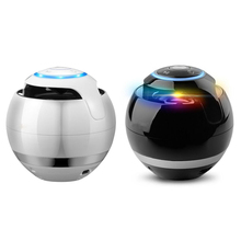 New LED Mini Wireless Bluetooth Speaker TF USB Portable Music Loudspeakers Hand-free call For iPhone 6 Phone PC with Mic цена 2017