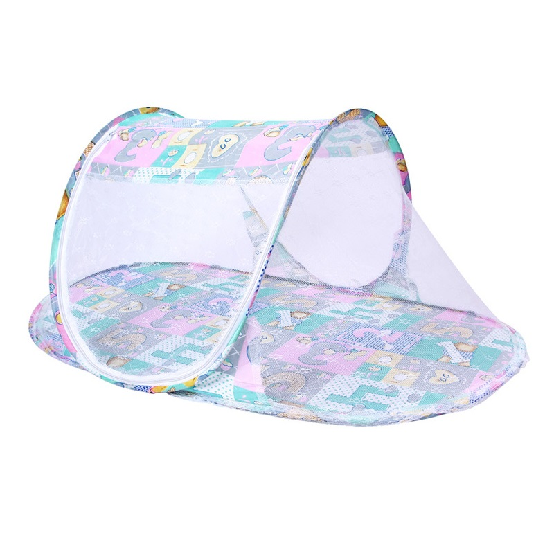 Baby Crib Netting Portable Foldable Baby Bed Mosquito Net Polyester Newborn Sleep Bed Travel Bed Netting Play Tent Children 0-3y