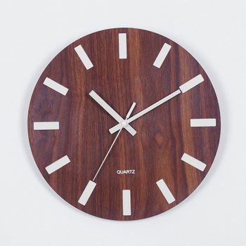 Wooden Wall Clock Luminous Number Hanging Clocks Quiet Dark Glowing Wall Clocks Modern Watches Decoration For Living Room 9