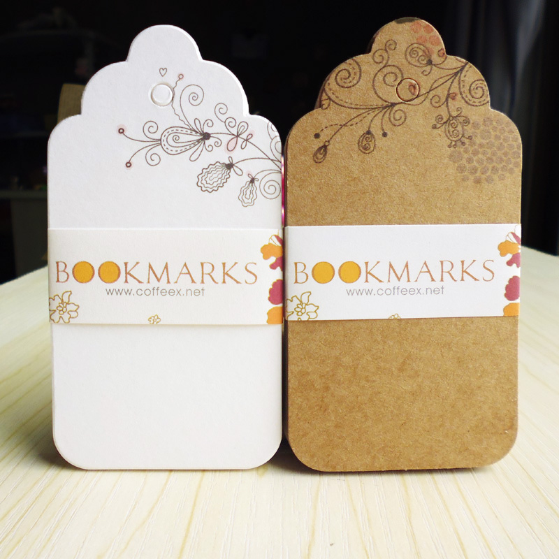 20 pcs Kraft Paper Floral Gift Tags with Strings Wedding Favor Hang Tags with Natural Jute Tags for Crafts & Price Tags Labels