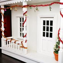 3PCS 1:12 Doll House DIY Dollhouse Christmas Accessories 45CM Wire Decorative Color Strips