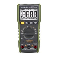 BD-168A Digital Multimeter Portable DC AC Voltage Resistance Current Measuring Frequency Voltmeter Multitester with LCD Display multimeter ammeter voltmeter wattmeter ac 80 260v 0 100a lcd digital display current voltage power energy meter