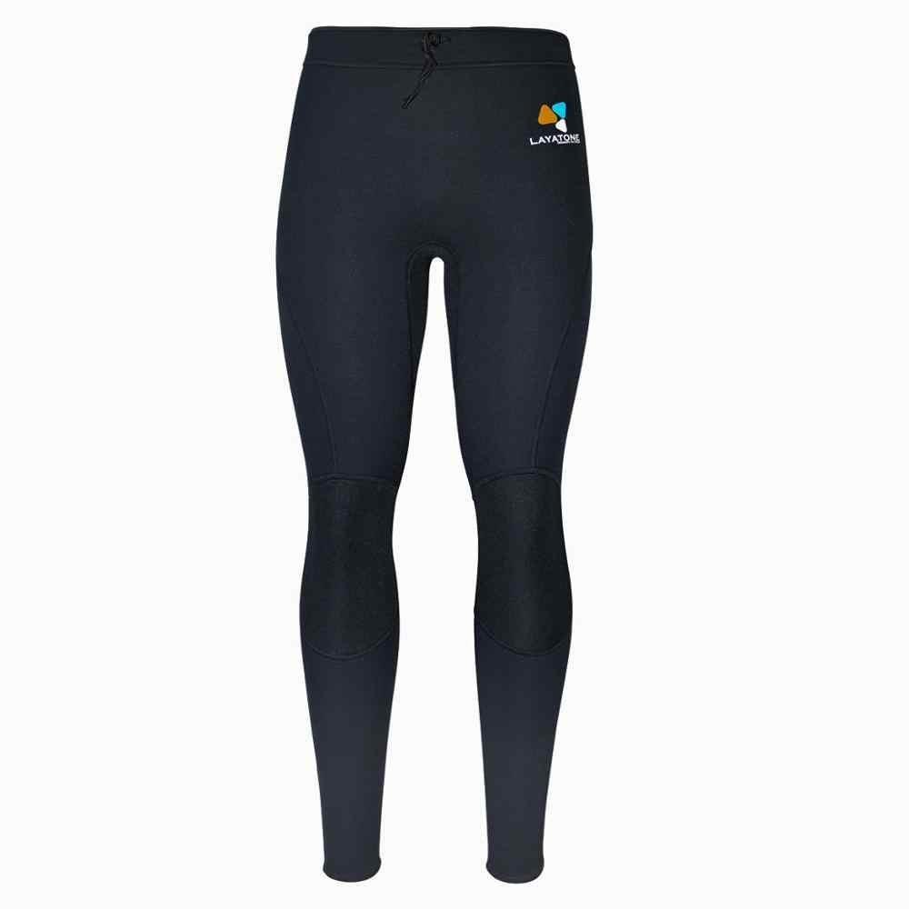 Layaton Wetsuit pantolon 2mm/3mm neopren pantolon kadın erkek dalış pantolon sörf kano Sauna pantolon tayt ıslak takım elbise yetişkin