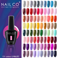 NAILCO 131 Colors Nail Gel Polish Off LED LED Gel Semi Permanant 15ML Gel Nail Art Hybrid Varnishes All For Manicure lacquer