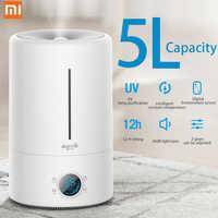Xiaomi Deerma F628S 5Lcapacity lámpara UV purificación humidificador de aire dormitorio bebé Oficina 12H tiempo purificador de aire versión táctil
