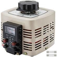 VEVOR 0.5KVA 1KVA 2KVA 3KVA Variable Transformer 220V AC W/ Copper Coil LCD Screen Voltage Output Meter for Motor Speed Control