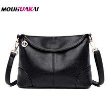 NEW brand Women Crossbody Bag Genuine Leather Small Messenger Bags For Ladies Shoudler bags 2020 bolsa feminina bolso mujer