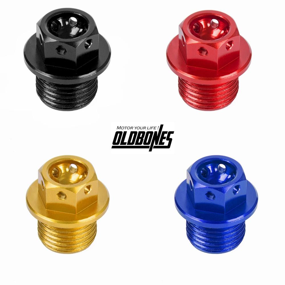 Magnetic Oil Drain Plug for Yamaha R1 R6 FZ1 FZ6 FZ8 MT07 MT09 FZ07 FZ09 XSR900 TDM850 XJR1200 1300 V-MAX FZR250 400