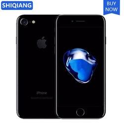 Used Original Unlocked Apple iphone 7 iOS Mobile Phones 5.5 in 3GB RAM 64/256GB ROM 4G LTE Fingerprint Cell phones 12MP A11