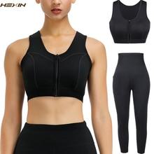 HEXIN Womens Slimming กางเกง Thermo Neoprene เหงื่อซาวน่าเสื้อกั๊ก Body Shapers ผู้หญิง Shapewear Tank Top