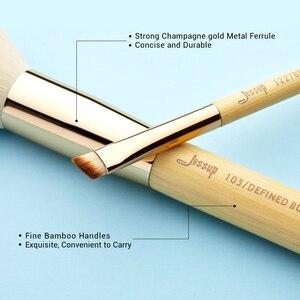 Image 3 - Jessupแปรงไม้ไผ่ 20pcs Professionalแปรงแต่งหน้าแปรงแต่งหน้าMake up Brush Tools Kitแป้งรองพื้นFoundation PowderแปรงEye Shader
