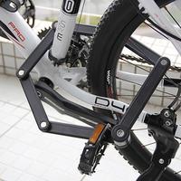 Anti-roubo dobrável ciclismo bicicleta bloqueio para motocicleta eletrônico mtb mountain road bicicleta ao ar livre acessórios de ciclo