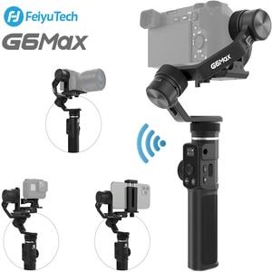 Image 1 - ใช้Feiyu G6 MAX 3แกนSplash Proof Handheld Gimbal Stabilizerสำหรับกล้องAction GoPro/โทรศัพท์/Mirrorlessกล้อง/กระเป๋ากล้อง