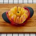Ломтерезка для яблок, разделитель фруктов, нож для картофеля, кухонный практичный инструмент для фруктов, инструмент для компотов, кухонные...