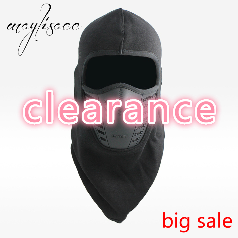 Infgreate Clearance Sale Stylish Warm Hat Winter Cycling Skiing Windproof Thicken Hat Men Neck Face Mask Warm Cap Gift