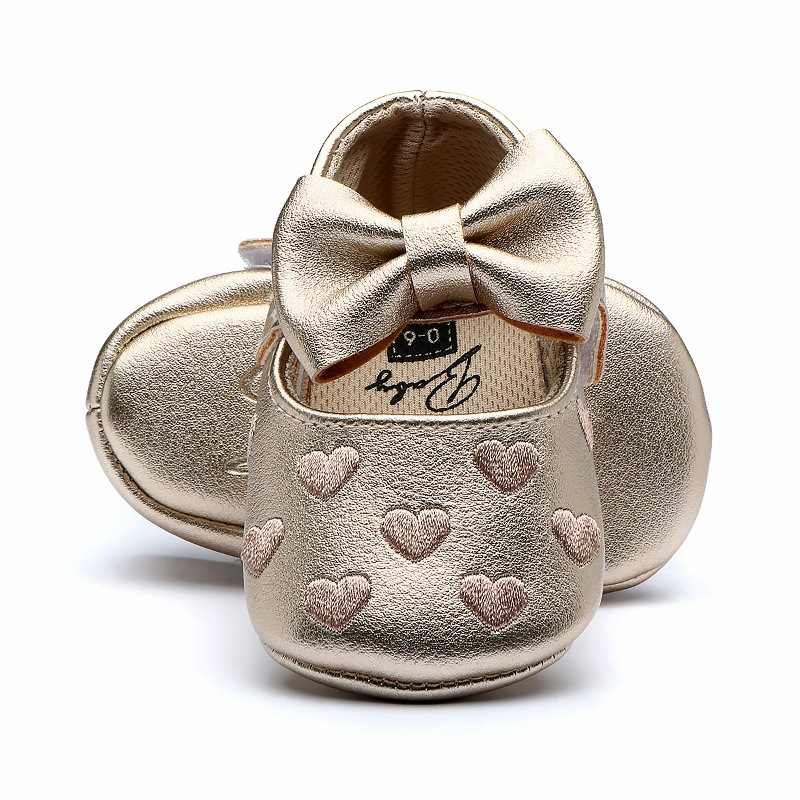 Baby Girls Shoes LOVE Heart Spring First Walkers Antislip Kids Shoes Breathable Boys Non-slip Sneakers Girls Toddler