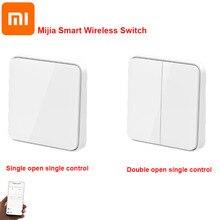 Xiaomi Mijia مفتاح حائط لاسلكي ذكي ، فتح فردي ومزدوج ، جهاز تحكم عن بعد للإضاءة الذكية ، تطبيق Mi Home ، جديد