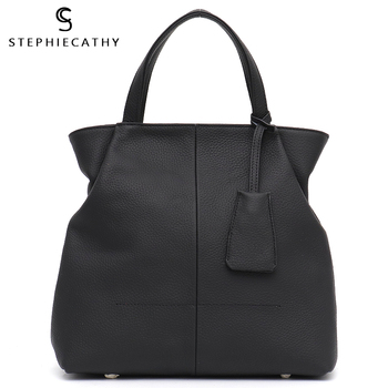 SC Geuniue Leather Top-handle Tote Bags for Girls Chic Real Leather Handbag Big Women Crossbody Bag Large Capacity High Quality