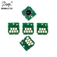 Boma.Ltd SC13MB C13S210057 SC- T2100 T3100 T5100 F500 чип обслуживания для Epson T3160 T5160 контейнер для чернил бак картридж