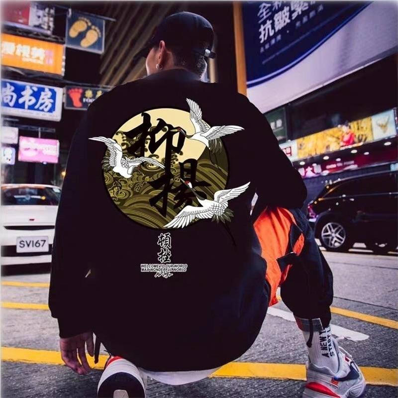 2020 Cool Men Hoodie Streetwear Hood Sweatshirt Hoody Men Black White Long Sleeves Hip Hop Autumn Winter Mens Women Sweatshirt