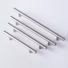 Diameter 12mm Stainless Steel Kitchen Door Cabinet T Bar Handle Pull  Hardware Drawer Kitchen handles