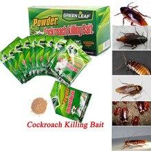 50PCS/box Roach Trap Cockroach Killing Bait Home Effective Powder Repeller Garden Pest Control Killer Reject Supplies