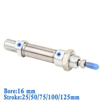 Cilindro de aire de doble acción de alta calidad de acero inoxidable...