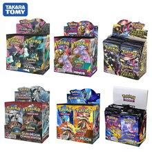 새로운 324 개/상자 포케몬 카드 소드 & 쉴드 Sun & Moon XY 모든 최신 버전 36 팩 부스터 박스 Collectible Toys