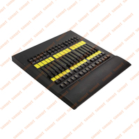 Free shipping MA Fader command wing stage effect lighting console with original logo pack by flight case for dj disco controller