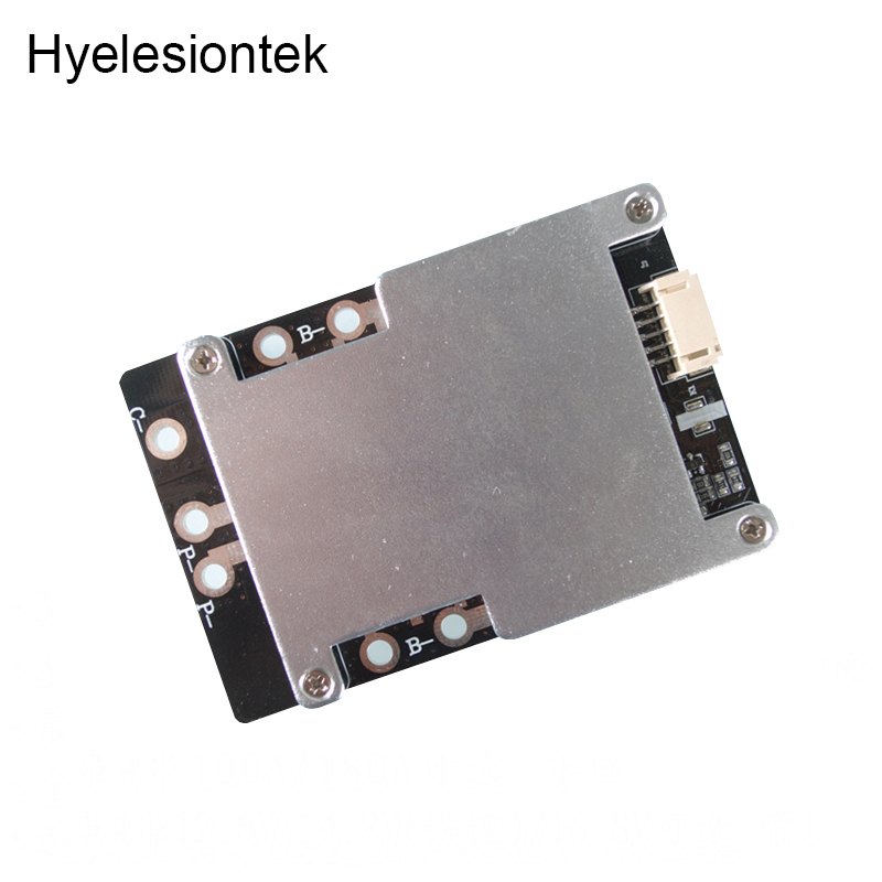 4S BMS 18650 Lithium Battery Protection Board BMS 4S 200A 14.8V 16.8V Balance PCB BMS Li ion Balancing Charger Electric Drill
