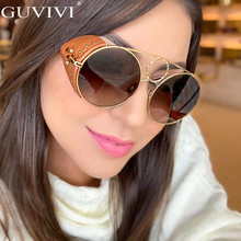 Vintage Round Sunglasses Women 2019 Men Retro Luxury Mens Sunglass Brand Designer Small Steampunk Eyewear