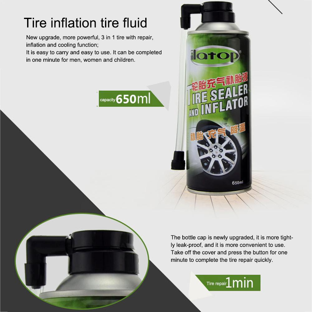 Tire Repair Tool 450ML Tire Fluid Sealant Mountain Bike Tire Sealer Motorcycle Bicycle Glue For All Vacuum Tires Non-vacuum Tire