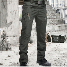 Cargo Pants Army-Trousers SWAT Wear-Resistant Many-Pockets Combat Military Waterproof