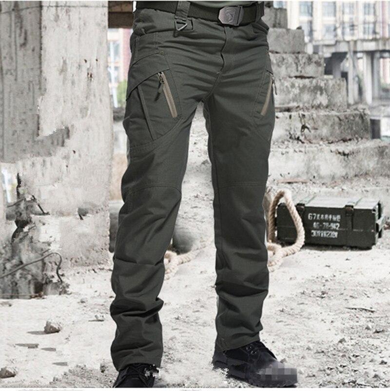 город военные тактические брюки для мужчин SWAT армейские брюки мужские много карманов уличные водонепроницаемые износостойкие повседневные брюки-карго Тактические штаны штаны мужские мужские штаны City Tactical Pants