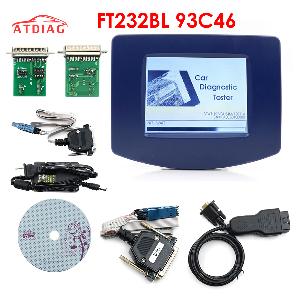 Förderung Digiprog III V4.94 Digiprog 3 mit Alle Adapter Digiprog3 Laufleistung Digi prog Entfernungsmesser-korrektur Werkzeug DHL Kostenloser Versand