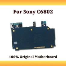 Разблокированная полностью Рабочая материнская плата для Sony Xperia Z Ultra xl39h C6802 материнская плата логическая плата с полным чипом Android система