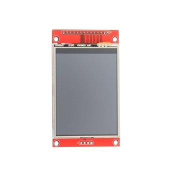 2.8 pollici TFT LCD Seriale SPI Risoluzione 320*240 Modulo Display LCD da 2.8 pollici con Touch Slot Per Schede SD 3.3 V 5 V Driver IC ILI9341 Display    - Electron Pal- Store